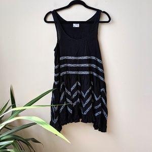 Free People Voile Trapeze Slip Swing Dress size XS